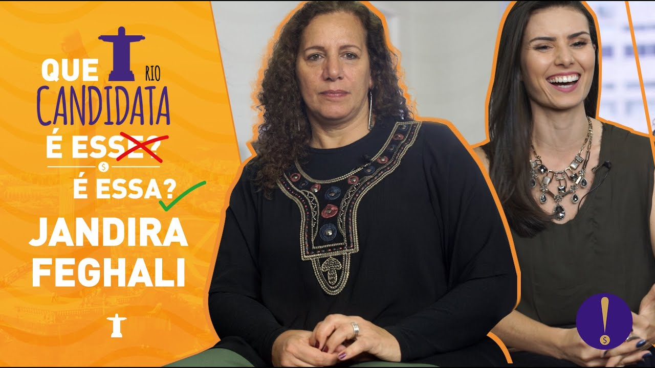 NATHALIA ARCURI - Entrevista: Jandira Feghali - Que Candidata é essa?
