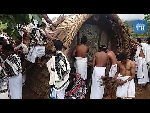 Behind the Toda tribe's temple in Ooty