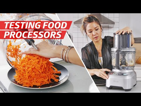 Testing The Cuisinart, Breville, And KitchenAid Food Processors — The Kitchen Gadget Test Show
