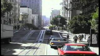 SAN FRANCISCO (1996) VIEW BY CABLE CAR,THE MOST POPULOUS CITY IN CALIFORNIA.