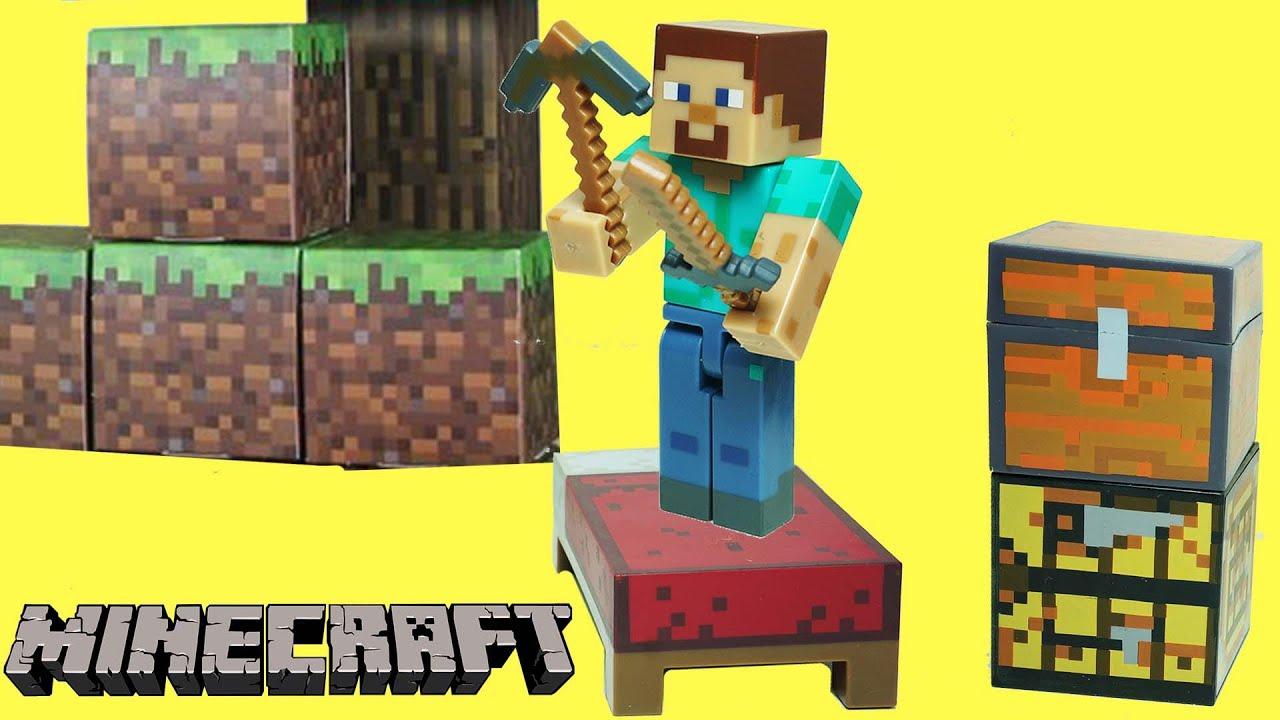 Minecraft - Steve Hayatta Kalma Paketi - Oyuncak Paketi Açma | Süper Oyuncaklar