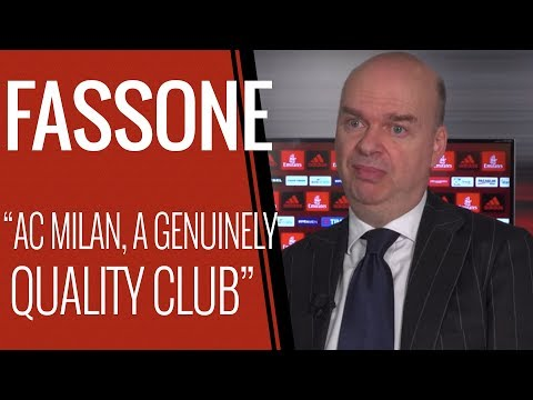 Marco Fassone's Interview on The First-Year Anniversary of The New Ownership