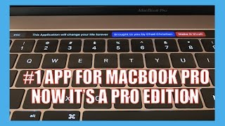 Macbook Pro Touch Bar The #1 Best Application You Must Have!