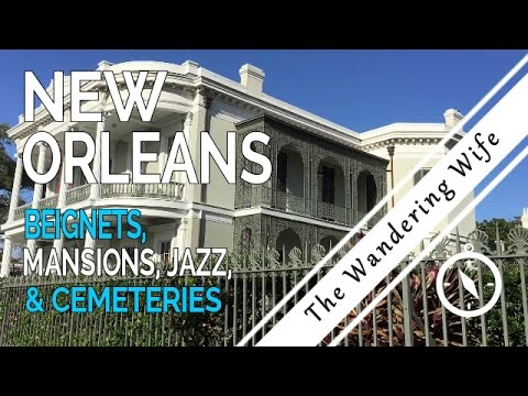 🇺🇸 NEW ORLEANS:  Garden District, Cemeteries, & Street Jazz 🇺🇸 | TRAVEL VLOG  #0017