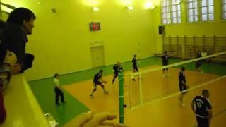 Финальная игра в волейбол в Воркутинском ДКШ 3.12.2011 г.