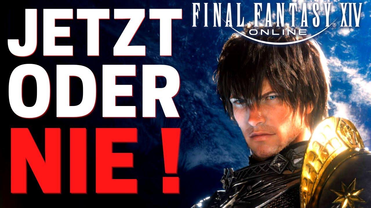SOFORT anfangen mit FFXIV ! Wieso du JETZT Final Fantasy 14 spielen solltest/FFXIV Deutsch German