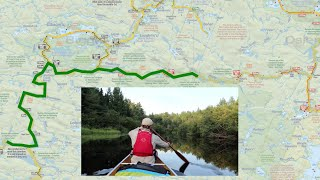 Algonquin Park's Meanest Link - MAP OVERVIEW