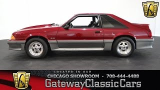 1993 Ford Mustang Cobra GT Gateway Classic Cars Chicago #872