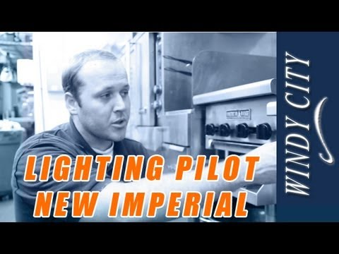 How To Light Pilot On New Imperial Thermostat With Combined Safty Valve Tutorial DIY Windy City