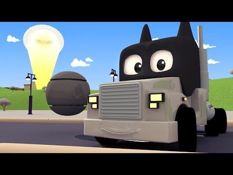วันเอพริลฟูลส์ : แบทแมน รีเทิร์นส 🎨 ร้านทาสีของทอม เจ้ารถลาก l การ์ตูนรถบรรทุกสำหรับเด็ก