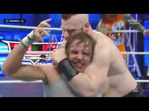 Roman Reigns, Dean Ambrose & The Usos Vs The League Of Nation SmackDown Latino ᴴᴰ