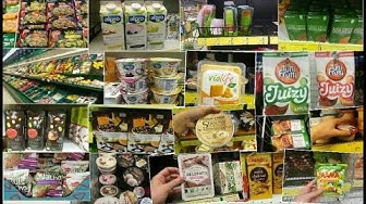 Vegaani ruokakaupassa