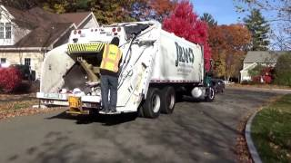 J.R.M Hauling & Recycling 205 ~ Mack Granite Leach 2RIII Rear Loader