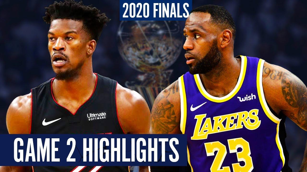 HEAT vs LAKERS GAME 2 - Full Highlights   2020 NBA Finals