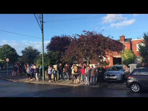 Gardaí attend scene of incident in Crumlin