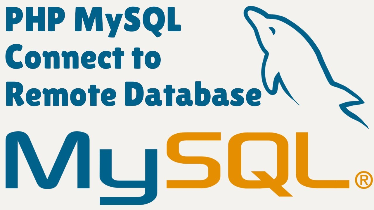 PHP MySQL connect to remote database (Connect Server Database from Localhost)