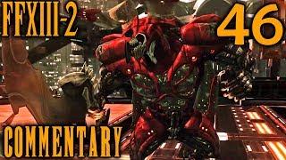 Final Fantasy XIII-2 Walkthrough Part 46 - Proto Behemoth Pummeling (Academia 500 AF)
