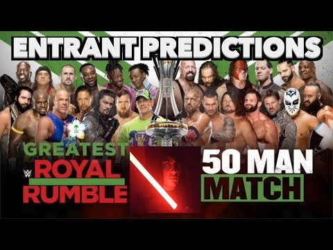 WWE Greatest Royal Rumble Match Entrant Predictions!