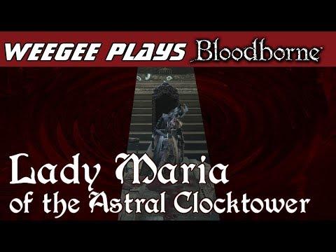 Weegee plays BloodBorne