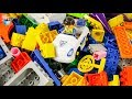 Colors Learning city police friend's Lego Full Box Play toys funny video for kids
