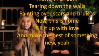 Sabrina Carpenter - The Middle Of Starting Over[LYRICS]