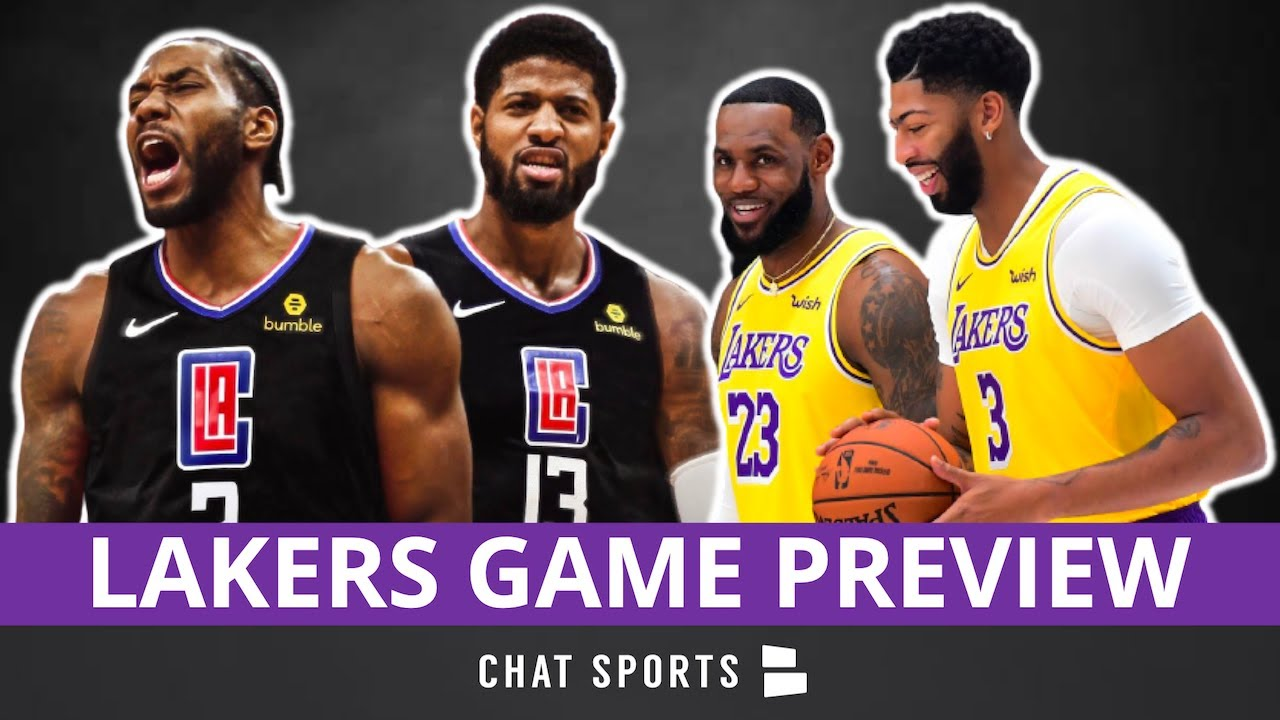 Lakers vs. Clippers Location, TV Network, Game Time, Preview, Final Score  Prediction
