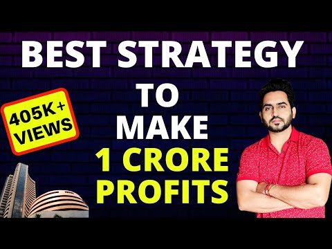 Live Intraday Strategy To Make 1 Crore Profits In A Year For Beginners ?  Scalping Strategy