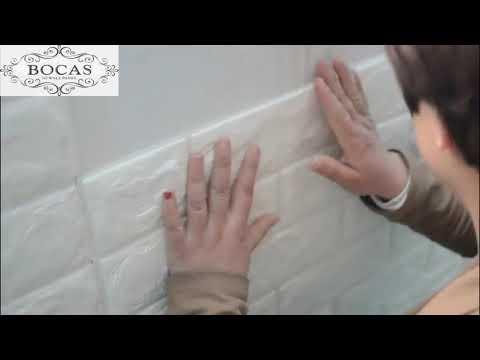 3D PE foam Wall stickers installation tips