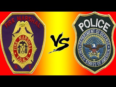 Fire Marshall Shuts Down Police Officer!!