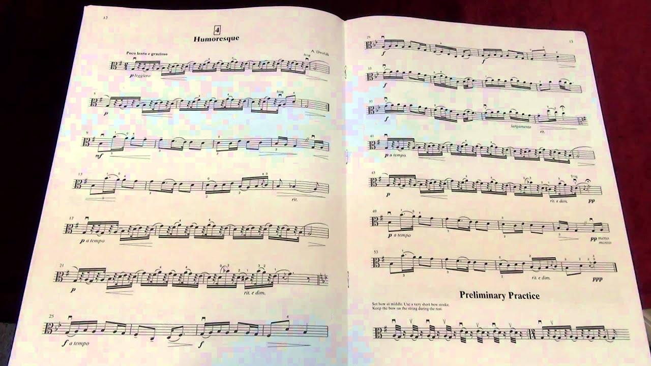 Suzuki Viola School Vol 3 No 4 Humoresque
