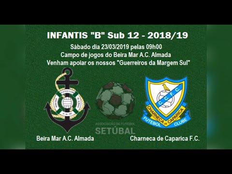 Beira Mar A.C. Almada - 1 vs 2 - Charneca de Caparica F.C. - Complementar Infantis Sub 12 - 2018/19