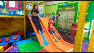 Playground Fun for Kids with Balls and Slides