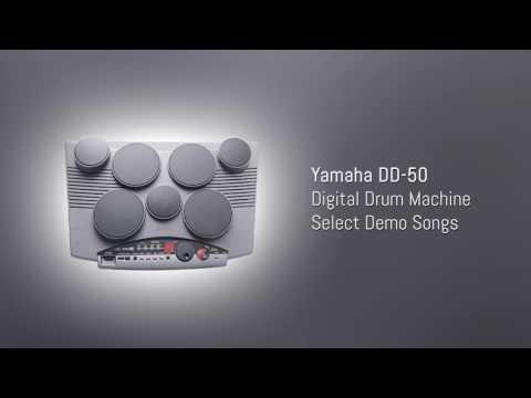 Yamaha DD-50 Digital Drum Machine - Select Demo Songs