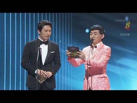 Presenter[Cut-2]Jang Hyuk 장혁 Singapore <Star Awards 2017> Top 10 Most Popular Male Artistes