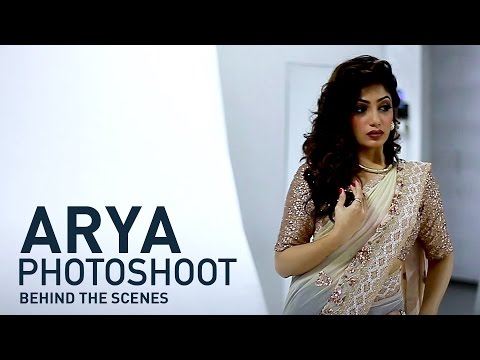 Arya​(Badai Bunglow Fame) Photoshoot - Grihalakshmi December 1st Issue