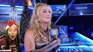 WWE Smackdown 12/20/16 Nattie SLAYS