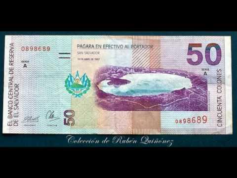Los Billetes Y Monedas De El Salvador