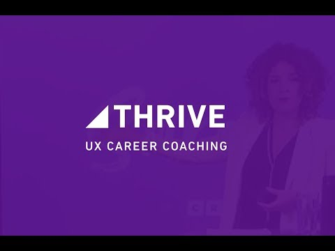 THRIVE – UX Career Consulting with Sarah Doody
