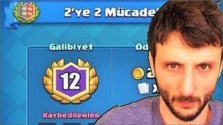 2YE 2 MÜCADELE YENİDEN GELDİ !! Clash Royale