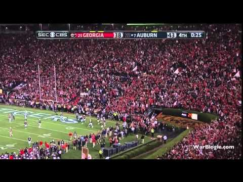 Auburn Radio vs. Georgia Radio - The Immaculate Deflection