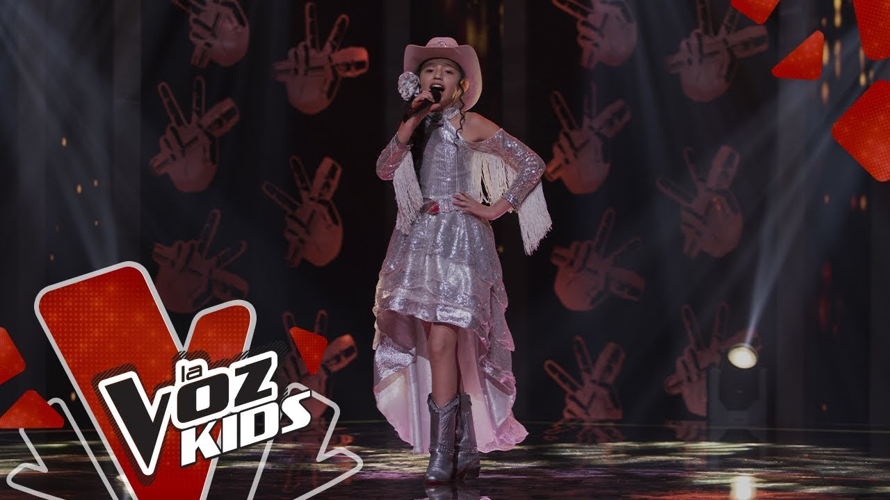 Valentina canta Copitas de Mezcal – Audiciones a Ciegas | La Voz Kids Colombia 2019