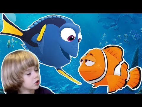 Finding Dory - Baby Dory Bag Of Surprise Blind Bags From Disney Pixar Finding Dory Game