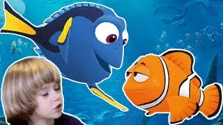 Finding Dory - Baby Dory Bag of surprise blind bags from Disney Pixar Finding Dory + Shopkins Game