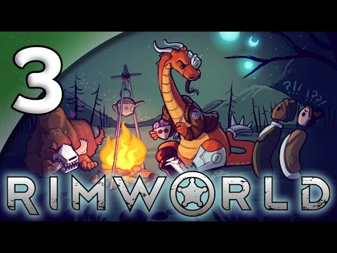 Rimworld Alpha 16 [Modded] – 3. Creature Comforts - Let's Play Rimworld Gameplay