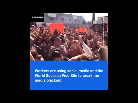 70,000 strike on US-Mexico border - break the media blackout by sharing this video