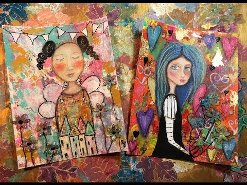 Mixed Media Paintings - Oil & Acrylics