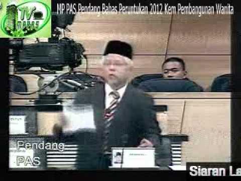 MP PAS Pendang Bahas Peruntukan 2012 Kementerian Pembangunan Wanita, Keluarga & Masyarakat