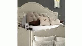 Queen Fabric Headboard
