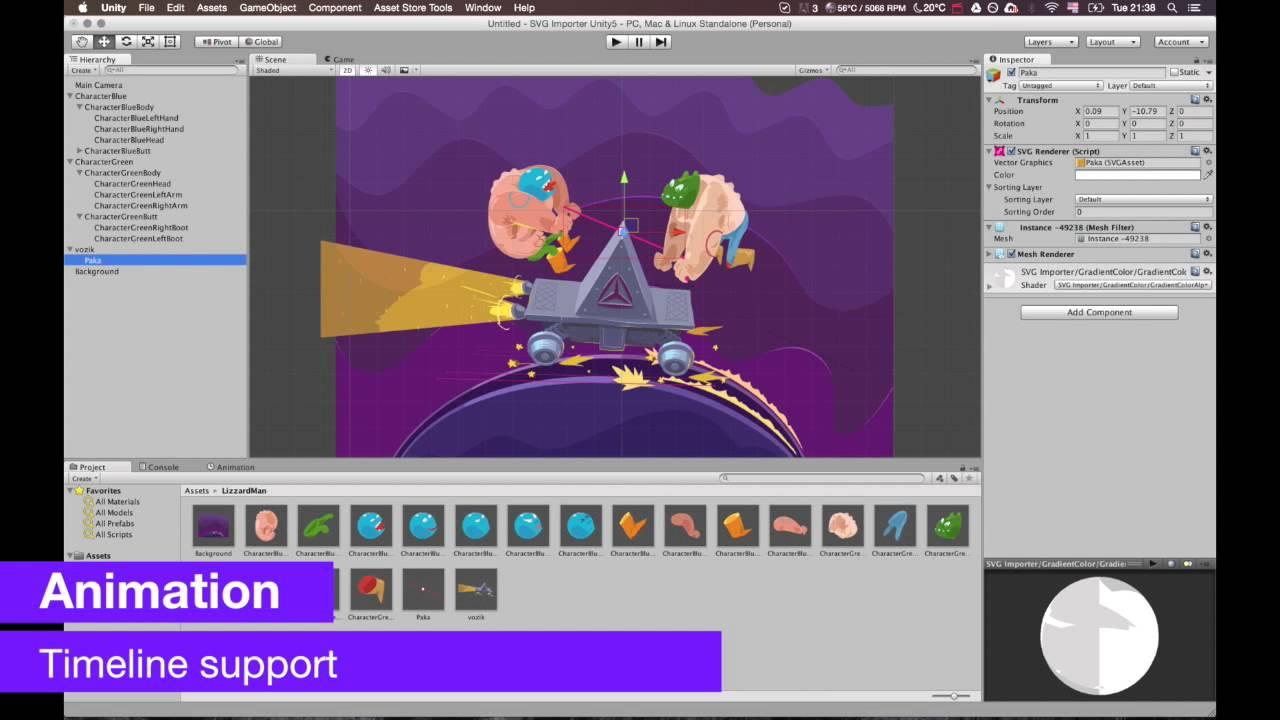 SVG Importer | Vector Graphics Plugin for Unity3D