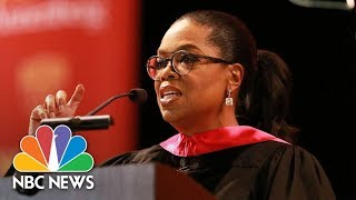 Oprah Winfrey Calls Out Fake News In Commencement Speech To USC Graduates | NBC News thumbnail